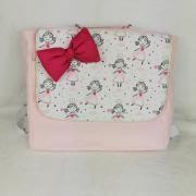 Cartable ecolier rose princesse