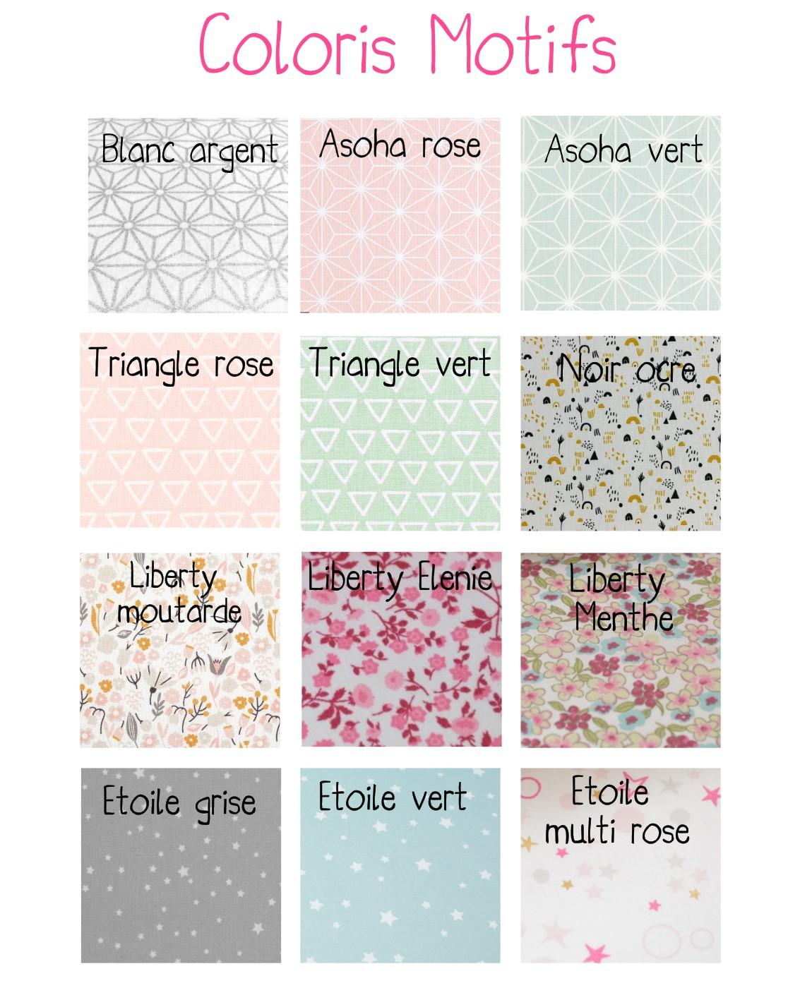 Coloris motifs
