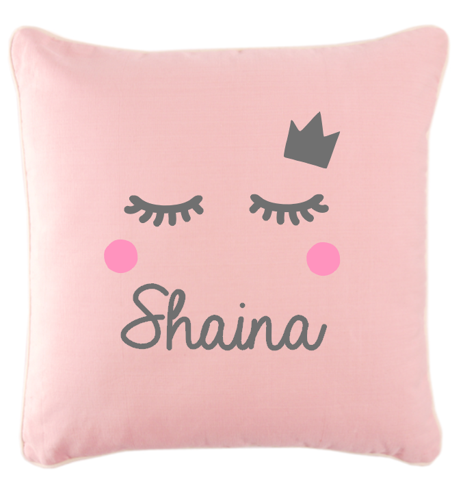 Coussin girly cils