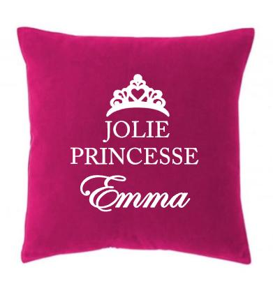 Coussin jolie princesse 1