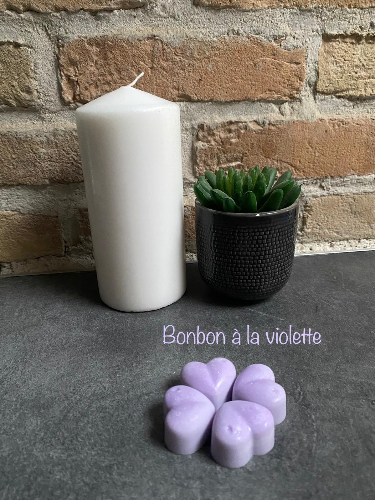 Fondant parfume bonbon a la violette