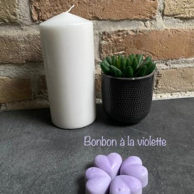 Fondant parfumé - Bonbon à la violette