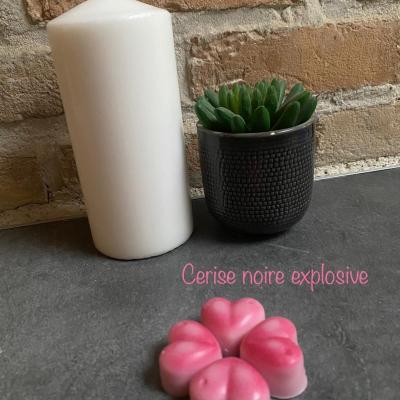 Fondant parfumé - Cerise noire explosive
