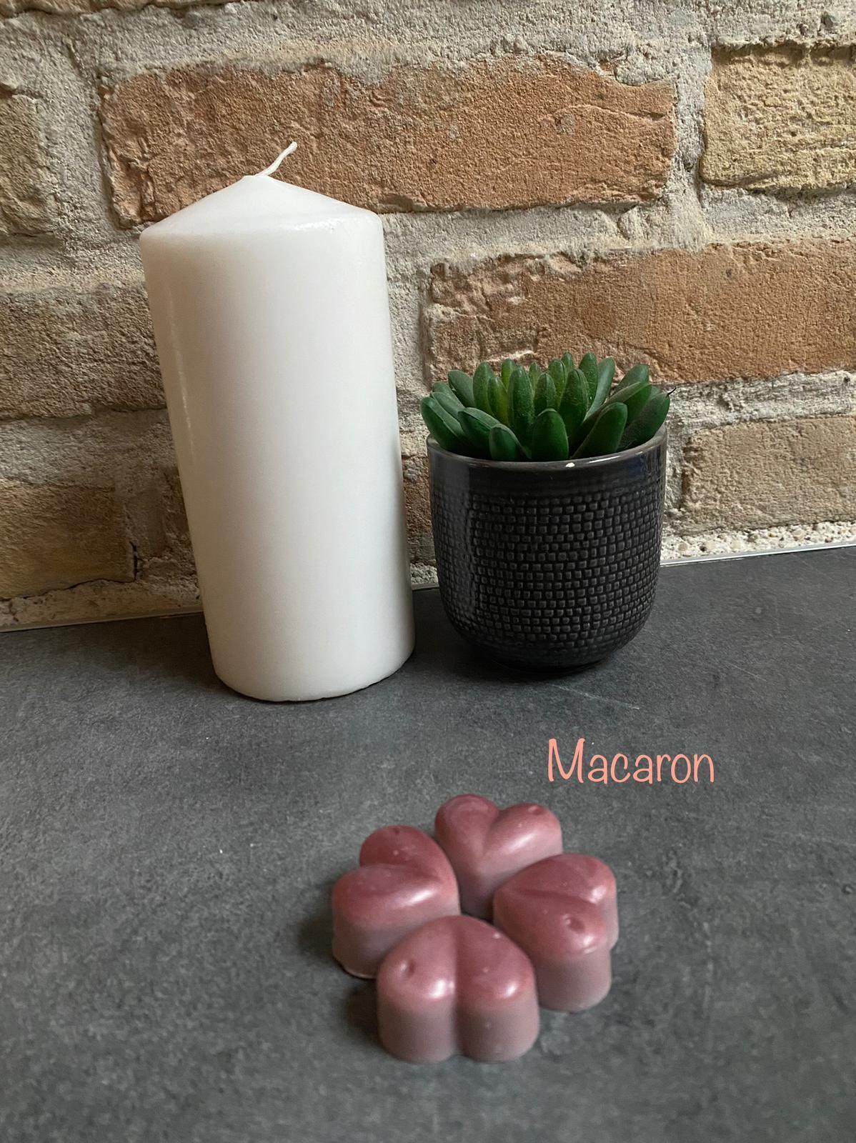 Fondant parfume macaron