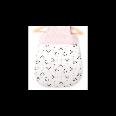 Gigoteuse bébé fille coton panda rose