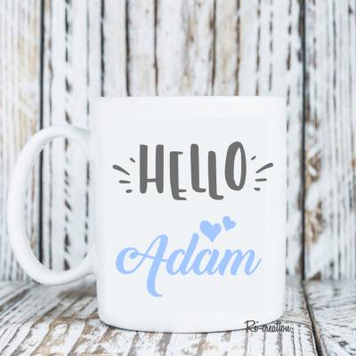 Mug personnalisé - Hello garçon