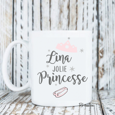 Mug personnalisé - Jolie princesse
