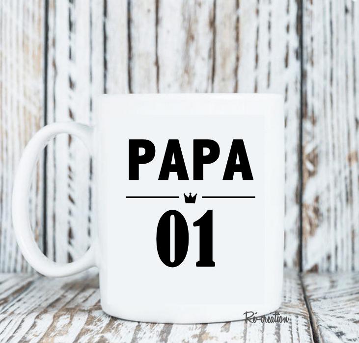 Mug personnalise papa