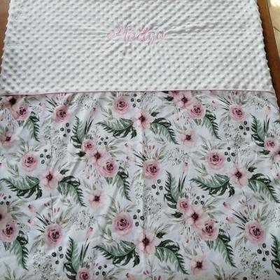 Couverture personnalisée Liberty floral