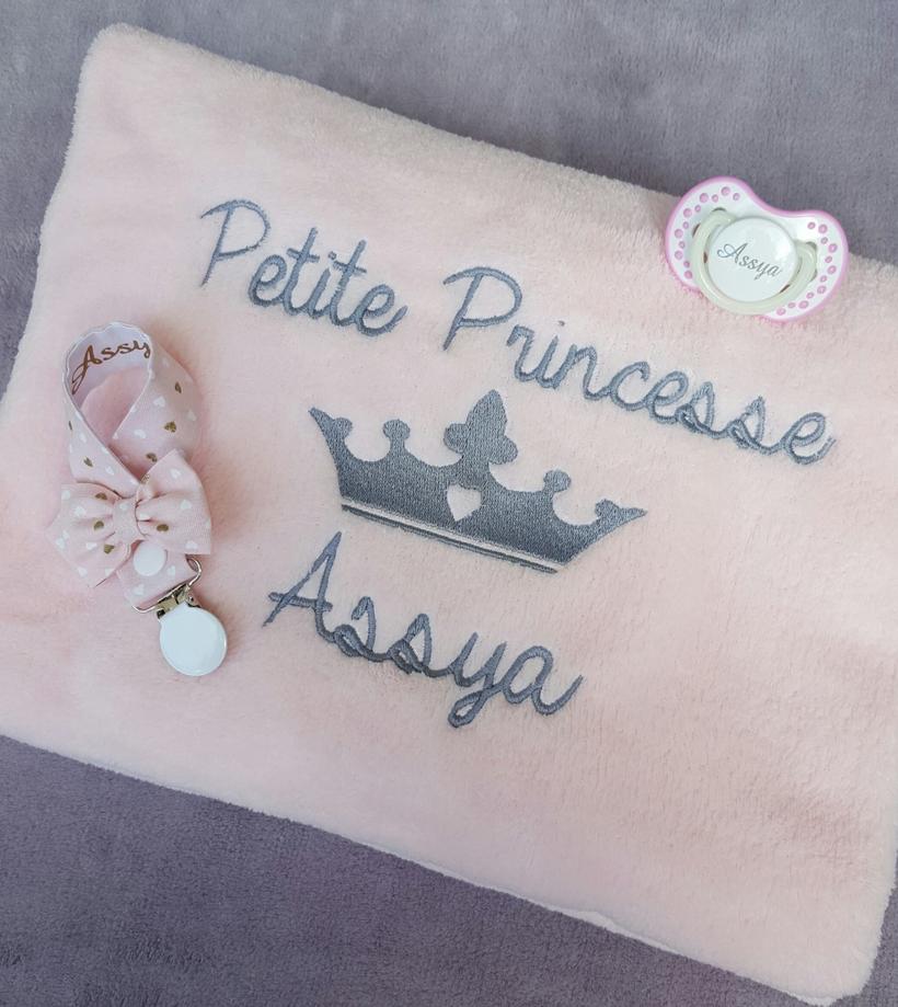 Plaid petite princesse
