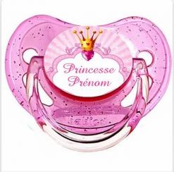 Tetine princesse couronne