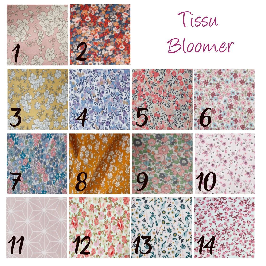 Tissu bloomer
